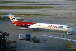5N-SRI 	DC9-82 Dana Air