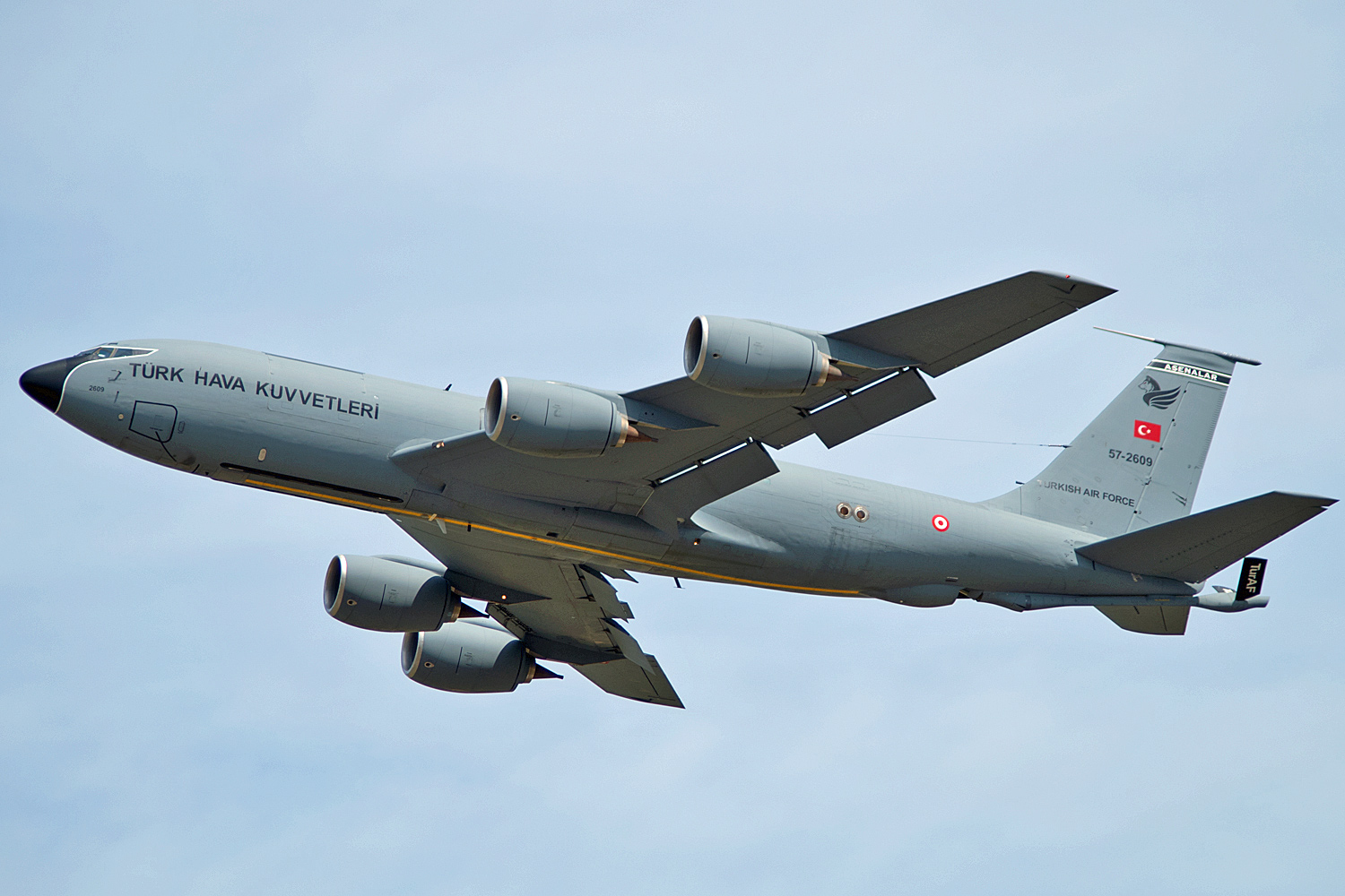 57-2609 KC-135R 101 Filo Turkey